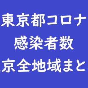 ≪毎日21時頃更新≫【2021年2月14日】東京都全地域コロナ感染者人数最新速報まとめ(23区・全市・島しょ部)