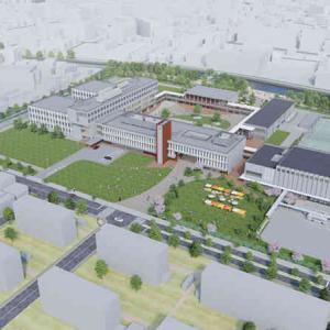 文教大学東京あだちキャンパスが始動するよ 1800人の学生が学ぶ大型大学が谷塚花畑に竣工