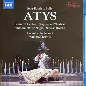 リュリのオペラ「アティス」の日本語字幕付き映像に感動と感涙!夢のような優美な音楽と舞台は必見!