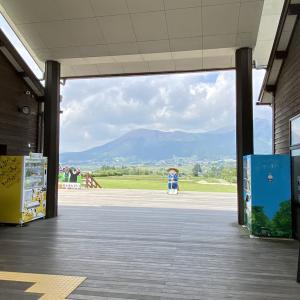 【あそ望の郷くぎの】さまざまな施設がそろう南阿蘇一の人気道の駅!