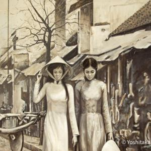 ハノイ街歩き~壁画ストリート~