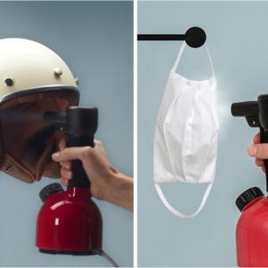 ZIP クリーン家電 除菌ハンディスチーマーでマスクの除菌も衣類のシワ伸ばしもOK!空気清浄機・除菌スプレー・まな板スタンドもご紹介