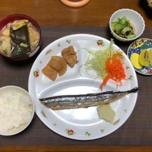 最近の晩ご飯