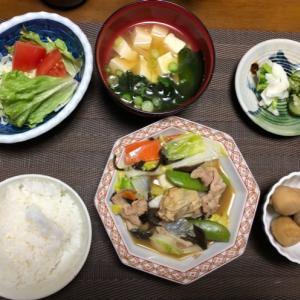 牡蠣入り八宝菜