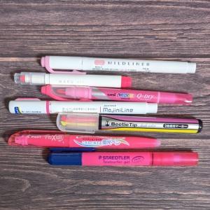 勉強や仕事に使える! ひと味違う機能性蛍光ペンおすすめの7本