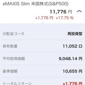 2020年4月 11,726円(+1,776円)