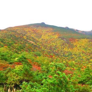 錦繍の安達太良山