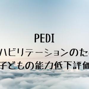 PEDI:リハビリテーションのための子どもの能力低下評価法の使用方法
