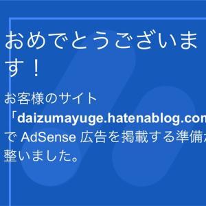 【再度】独自ドメインなしでGoogle AdSense合格しました!
