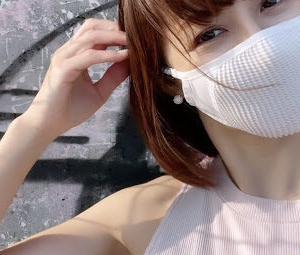 【ナルーマスクN0U】ランニング用の夏マスクレビュー、紫外線カットで苦しくない!