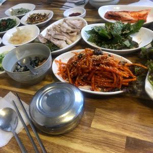 げろろっ!!韓国でタニシ食す【光州】