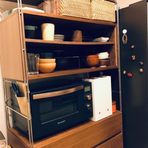 無印のユニットシェルフを食器棚として5年間使ってみて