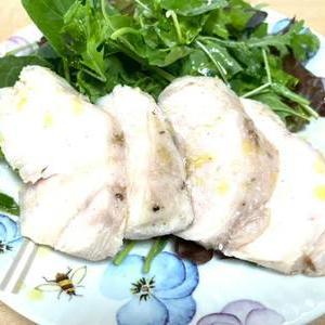ひさーしぶりの鶏ハム
