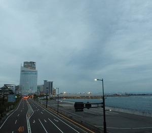 今夕は、雲がびっしり