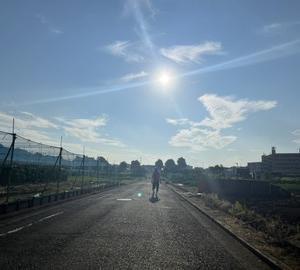 早朝散歩でスッキリ♪