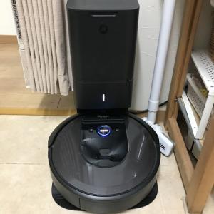 最新式ルンバi7+自動ゴミ収集機つき買ってしまいました