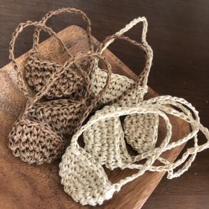 【イーマリーちゃん】手編みポシェット作り