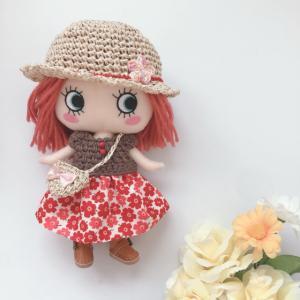【イーマリーちゃん 服】赤と緑の双子コーデ<委託販売品>