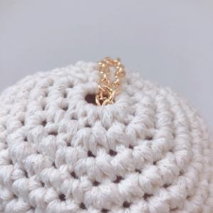 【YouTube】ベレー帽を編んでみました♡<ハッピードール用>