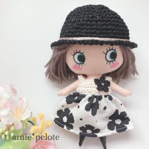 【イーマリーちゃん 服】お気に入りの布で作ったワンピース