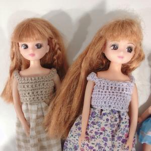 【リカちゃん】ボサボサの髪の毛お手入れをします