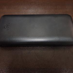 OMKUYモバイルバッテリー!ケーブル、コンセント付きで便利!