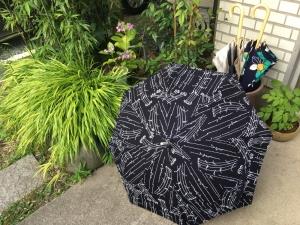 日傘作りに味をしめて**