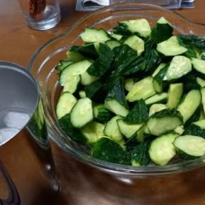 我が家の胡瓜の食べ方