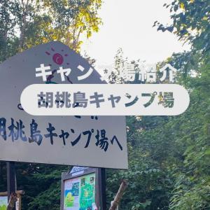 【胡桃島キャンプ場】(岐阜県)を詳しく紹介