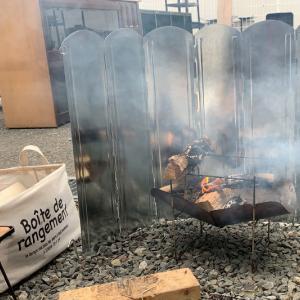 キャンプグリーブ 焚き火用大型ウインドスクリーン レビュー