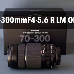 新しいレンズをポチw XF70-300mmF4-5.6