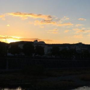 2021年 京都鴨川から初日の出
