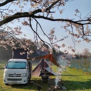森のまきばオートキャンプ場、車中泊とお花見キャンプ!と雨の日の失策
