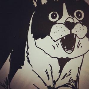 iPadと Apple Pencilでモノクロのシンプルな猫の絵を激しく描いてみた!デジタルアートにハマる現代芸術家ARAO3