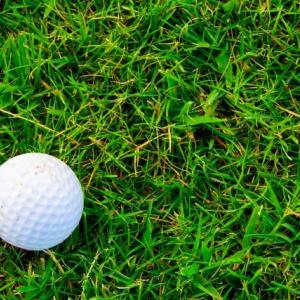 ゴルフボールの間違い
