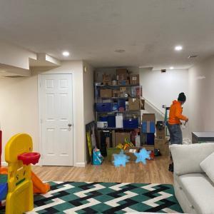 コロナ禍での天井の照明改修
