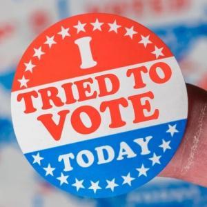 大統領選挙の傷痕