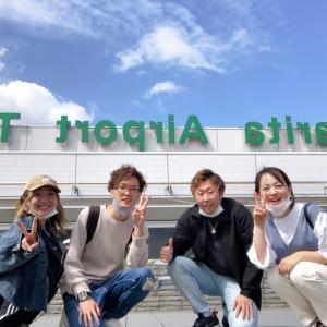 成田からプノンペンへ、日本旅立つ^_^