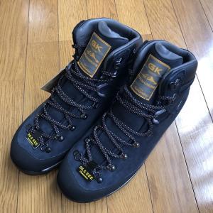 新しい登山靴で筑波山