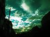 雲を追って、Lomographyのトイレンズで