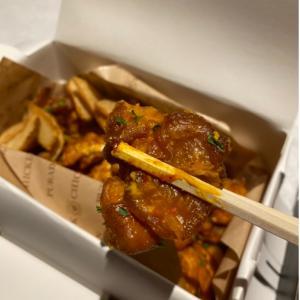 韓国で人気のあるチキン屋さん!! 「PURADAK」