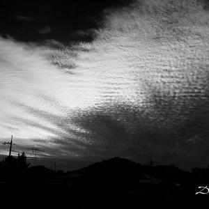 うろこ雲とひつじ雲の違いは、高さと色と大きさ