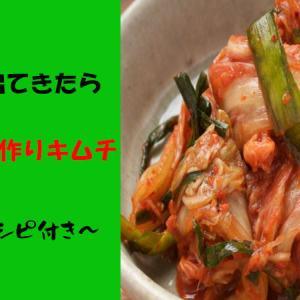 白菜が出てきたら、海外で手作りキムチ!~簡単レシピ付き~