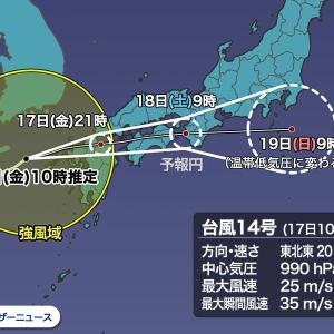 【リアルタイム配信】台風注意