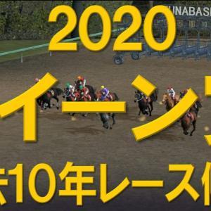2020 クイーン賞 【過去10年レース傾向】