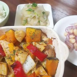 鶏と野菜のグリル焼き