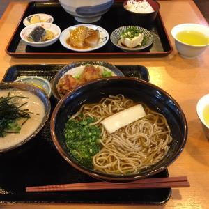 掛川道の駅のそば定食