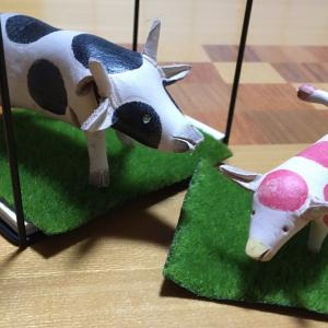 牛の革細工