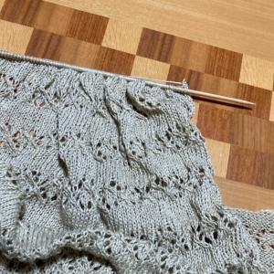 編みかけのマーガレットを仕上げなくちゃ!