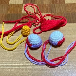 英語の編み記号購入、ヘイヘイを編み始めました